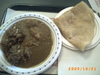 Goat Curry with Rice or Roti